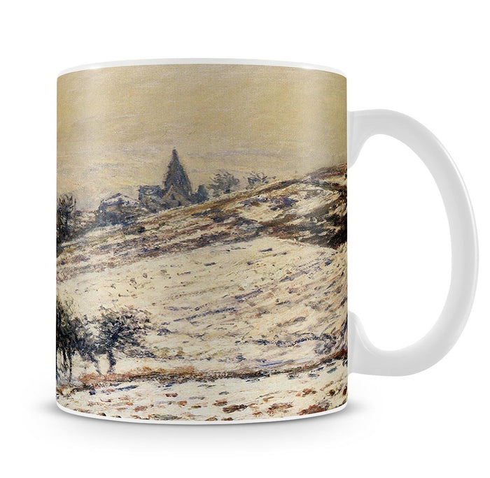 Winter At Giverny 1885 by Monet Mug