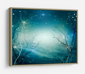 Winter Nature Abstract HD Metal Print