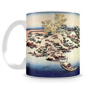 Winter landscape of Suda by Hokusai Mug - Canvas Art Rocks - 2