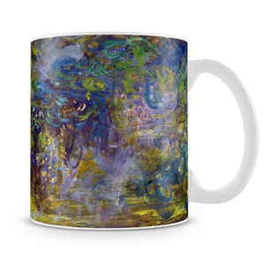 Wisteria 2 by Monet Mug - Canvas Art Rocks - 4