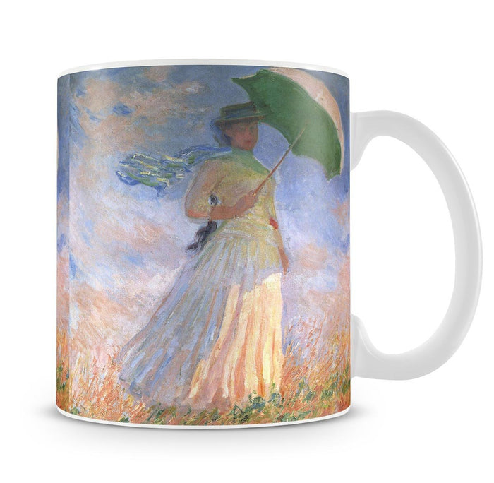 Woman with Parasol 2 by Monet Mug