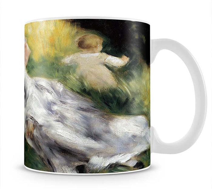 Woman with Parasol by Renoir Mug