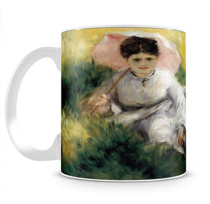 Woman with Parasol by Renoir Mug - Canvas Art Rocks - 2