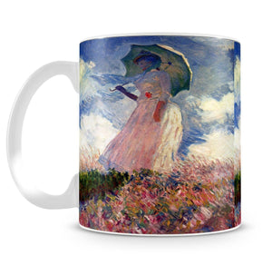 Woman with Parasol study by Monet Mug - Canvas Art Rocks - 4