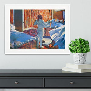 Women at the toilet 3 by Degas Framed Print - Canvas Art Rocks - 5
