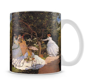 Women in the Garden by Monet Mug - Canvas Art Rocks - 4