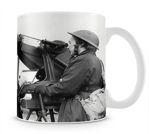 Women soldiers take aim WW2 Mug - Canvas Art Rocks - 1