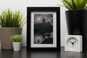 Worcester Cathedral Framed Print - Canvas Art Rocks - 1