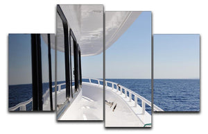 Yacht elements The deck 4 Split Panel Canvas  - Canvas Art Rocks - 1