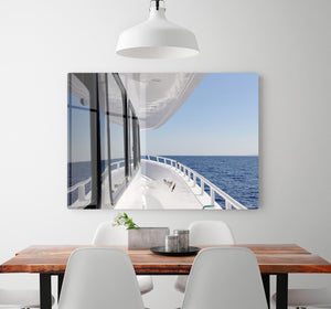 Yacht elements The deck HD Metal Print