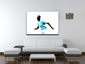 Yaya Toure Canvas Print or Poster