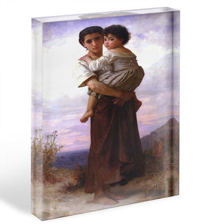 Young Gypsies By Bouguereau Acrylic Block - Canvas Art Rocks - 1