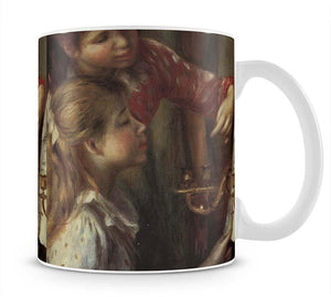 Young girls at the piano Detail by Renoir Mug - Canvas Art Rocks - 1