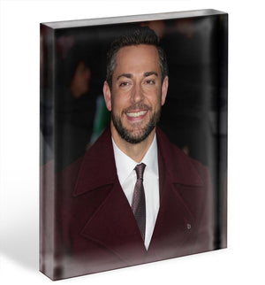 Zachary Levi Acrylic Block - Canvas Art Rocks - 1