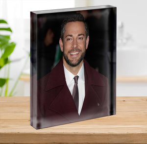 Zachary Levi Acrylic Block - Canvas Art Rocks - 2