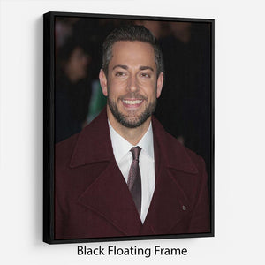 Zachary Levi Floating Frame Canvas - Canvas Art Rocks - 1