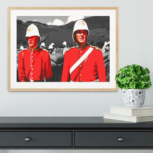 Zulu Soldiers Framed Print - Canvas Art Rocks - 3