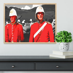 Zulu Soldiers Framed Print - Canvas Art Rocks - 4