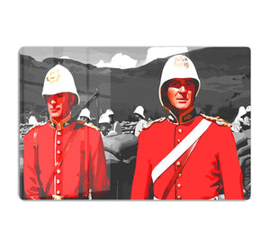 Zulu Soldiers HD Metal Print