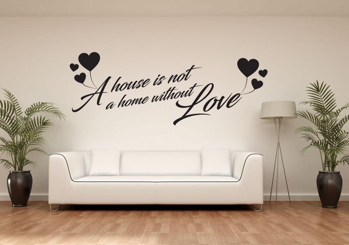 A Home With Love Wall Sticker