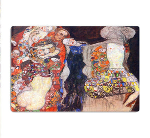 adorn the bride with veil and wreath by Klimt HD Metal Print
