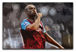 Agbonlahor Aston Villa Print - Canvas Art Rocks - 1