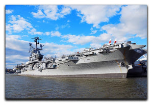 aircraft carriers built during World War II Canvas Print or Poster  - Canvas Art Rocks - 1