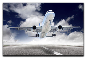 airplane take-off Canvas Print or Poster  - Canvas Art Rocks - 1