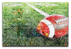American Football Canvas Print or Poster