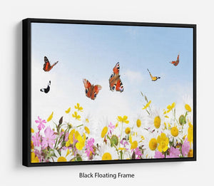 beauty in nature Floating Frame Canvas