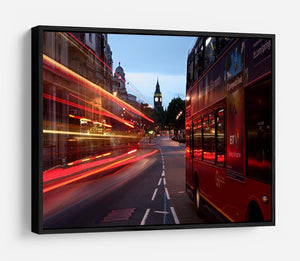 dawn breaking over the city of westminster HD Metal Print