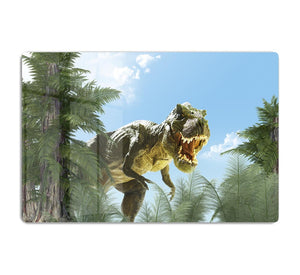 dinosaur in the jungle background HD Metal Print