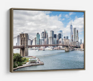 downtown Manhattan Bridge HD Metal Print