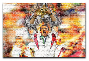 England Rugby World Cup Win 2003 Canvas Print or Poster
