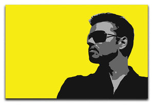 George Michael Pop Art Canvas Print - Canvas Art Rocks - 1
