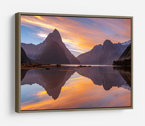 high mountain glacier at milford sound HD Metal Print