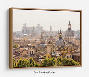 monument and several domes Floating Frame Canvas