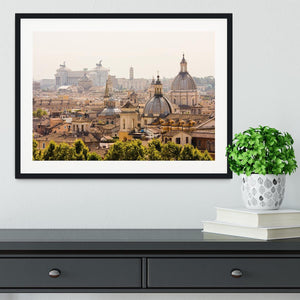 monument and several domes Framed Print - Canvas Art Rocks - 1