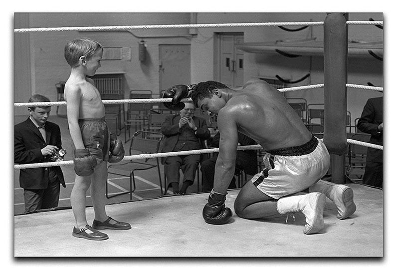muhammad ali 2 Canvas Print or Poster  - Canvas Art Rocks - 1
