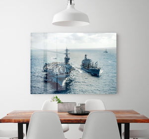 navy crossing the ocean HD Metal Print