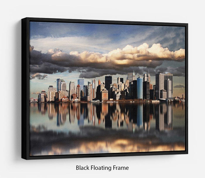 new york city Floating Frame Canvas