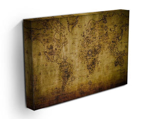 old map Canvas Print or Poster - Canvas Art Rocks - 3