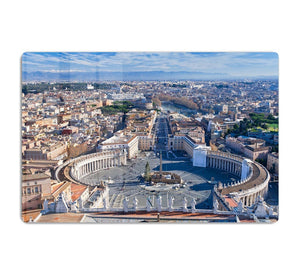panorama of St.Peter Square HD Metal Print