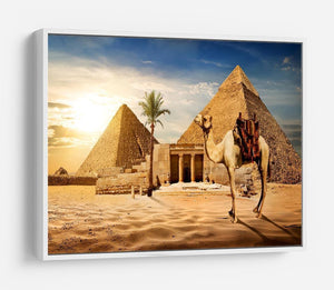 pyramid of Cheops HD Metal Print