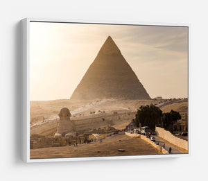pyramid of Giza in Egypt HD Metal Print