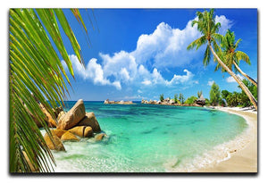 tropical paradise Canvas Print or Poster - Canvas Art Rocks - 1