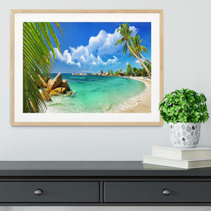 tropical paradise Framed Print - Canvas Art Rocks - 3