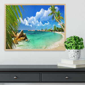 tropical paradise Framed Print - Canvas Art Rocks - 4