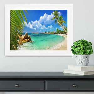 tropical paradise Framed Print - Canvas Art Rocks - 5
