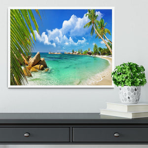 tropical paradise Framed Print - Canvas Art Rocks -6